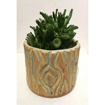 "Peter Vale, ""Tree Planter"", Ceramic, $65, 3 1/2""H x 5"" Diameter"